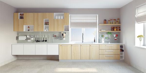 armoires & comptoir de cuisine