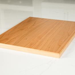 comptoir placage de bois